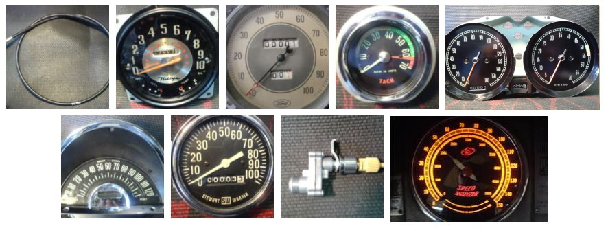 Speedometers repaired by Speedometer and Alternator Service Co